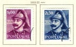 PORTUGAL, Commemoratives, AF 780-81 Yv 791-92, Used, F/VF, Cat. € 11 - Oblitérés