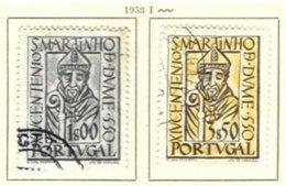 PORTUGAL, Commemoratives, AF 778-79 Yv 789-90, Used, F/VF, Cat. € 11 - Oblitérés