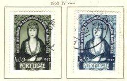PORTUGAL, Commemoratives, AF 784-85 Yv 795-96, Used, F/VF, Cat. € 13 - Oblitérés