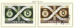 PORTUGAL, Commemoratives, AF 782-83 Yv 793-94, Used, F/VF, Cat. € 11 - Oblitérés