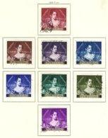 PORTUGAL, Commemoratives, AF 786-93 Yv 797-804, Used, F/VF, Cat. € 32 - Oblitérés