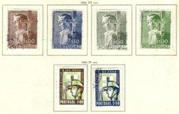 PORTUGAL, Commemoratives, AF 800-05 Yv 811-16, Used, F/VF, Cat. € 66 - Oblitérés