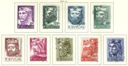 PORTUGAL, Commemoratives, AF 806-14 Yv 817-25, Used, F/VF, Cat. € 24 - Oblitérés