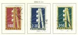 PORTUGAL, Commemoratives, AF 815-17 Yv 826-28, Used, F/VF, Cat. € 14 - 1910-... República