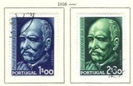 PORTUGAL, Commemoratives, AF 819-20 Yv 829-30, Used, F/VF, Cat. € 10 - Oblitérés