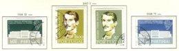 PORTUGAL, Commemoratives, AF 831-32, 839-40, Yv 841-42, 849-50, Used, F/VF, Cat. € 6 - Oblitérés