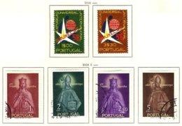 PORTUGAL, Commemoratives, AF 833-38 Yv 843-48, Used, F/VF, Cat. € 8 - Oblitérés