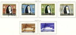 PORTUGAL, Commemoratives, AF 841-46 Yv 851-56, Used, F/VF, Cat. € 12 - Oblitérés