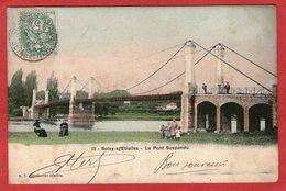 SOISY-s/ETIOLLES - Le Pont Suspendu - 1907 - - Frankreich