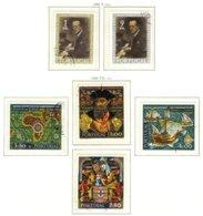 PORTUGAL, Commemoratives, AF 1053-54, 1059-62; Yv 1063-64, 1069-72, Used, F/VF, Cat. € 11 - 1910-... République
