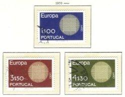 PORTUGAL, Commemoratives, AF 1063-65 Yv 1073-75, Used, F/VF, Cat. € 11 - 1910-... République