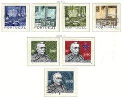 PORTUGAL, Commemoratives, AF 1066-72 Yv 1076-82, Used, F/VF, Cat. € 13 - 1910-... République