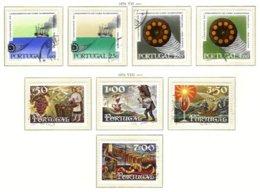 PORTUGAL, Commemoratives, AF 1083-90 Yv 1093-100, Used, F/VF, Cat. € 11 - 1910-... République