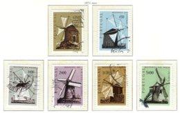 PORTUGAL, Commemoratives, AF 1091-96 Yv 1101-06, Used, F/VF, Cat. € 7 - 1910-... République