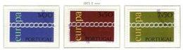 PORTUGAL, Commemoratives, AF 1097-99 Yv 1107-09, Used, F/VF, Cat. € 6 - 1910-... République