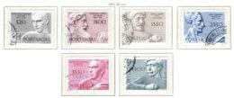 PORTUGAL, Commemoratives, AF 1100-05 Yv 1110-15, Used, F/VF, Cat. € 7 - 1910-... République
