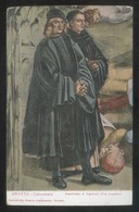 *Fra Angelico - Autoritratto Di Signorelli* Orvieto Catedrale. Circulada 1920. - Pintura & Cuadros