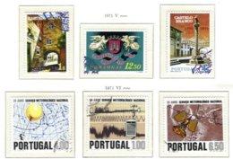 PORTUGAL, Commemoratives, AF 1113-18 Yv 1123-28, Used, F/VF, Cat. € 7 - 1910-... République