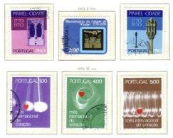 PORTUGAL, Commemoratives, AF 1146-51 Yv 1144-49, Used, F/VF, Cat. € 6 - 1910-... République
