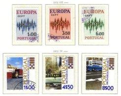 PORTUGAL, Commemoratives, AF 1152-57 Yv 1150-55, Used, F/VF, Cat. € 9 - 1910-... République