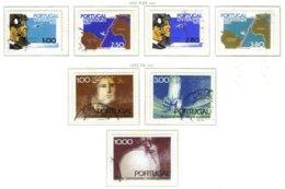 PORTUGAL, Commemoratives, AF 1171-77 Yv 1169-75, Used, F/VF, Cat. € 9 - 1910-... République