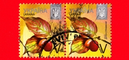 UCRAINA  - Usato - 2015 - Piante ( Flora ) - Corniolo - Cornus Mas - V - Ucraina