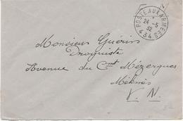 LETTRE FRANCHISE MILITAIRE -CAD POSTE AUX ARMEES 24-5-1932-  434 - - Marcophilie (Lettres)