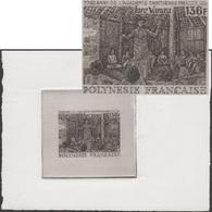 Polynésie Française 1994 Y&T 457. Épreuve D'artiste De Pierre Béquet. Académie Tahitienne, Promotion De La Langue - Languages