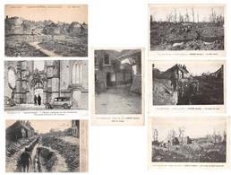 Lot De 13 CPA De Lihons En Santerre (80) Guerre 14 - 18 - France