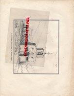 87- AIXE SUR VIENNE- RARE GRAVURE NOTRE DAME D' ARLIQUET-ANCIENNE CHAPELLE - LEMAISTRE 1865 - Stiche & Gravuren