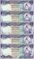 IRAQ 10 DINARS 1982 P-71 LOT X5 EF/AU HIGH CRISP NOTES */* - Iraq