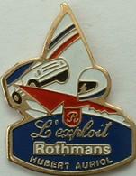 L'exploit -  ROTHMANS - HUBERT AURIOL - Rallye