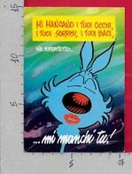 CARTOLINA VG ITALIA - FUMETTI - LUPO ALBERTO ... Mi Manchi Tu! - 01 55 SILVER - 10 X 15 - ANN. 1994 ROMA - Fumetti