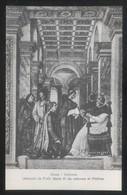 *Melozzo Da Forli - Sisto IV Da Udienza Al Platina* Roma, Vaticano. Nueva. - Pintura & Cuadros