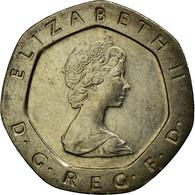 Monnaie, Grande-Bretagne, Elizabeth II, 20 Pence, 1982, SUP, Copper-nickel - 1971-… : Monnaies Décimales