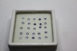 Tanzanite Ct. 0.87 (25 Pezzi) Da 2 Mm - Bijoux & Horlogerie