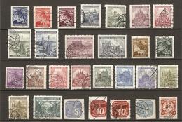Bohême Et Moravie 1939/45 - Petit Lot De 28 Oblitérés - Timbres