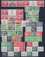 ALLEMAGNE EMPIRE - COMBINAISONS DE CARNETS ET DE FEUILLES TETE BECHE NEUF* - Colecciones
