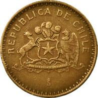 Monnaie, Chile, 100 Pesos, 1998, Santiago, TTB, Aluminum-Bronze, KM:226.2 - Chile