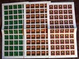 CONGO KINSHASA COB 797/99  COMPLETE SHEETS MNH - Neufs
