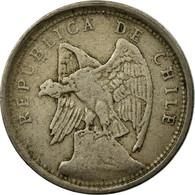 Monnaie, Chile, 10 Centavos, 1925, TB, Copper-nickel, KM:166 - Chile