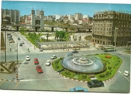 3534.-   LA  CORUNA   FUENTE   LUMINOSA   DE    CUATRO  CAMINOS - Spanje