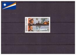 Îles Marshall 1990 - MNH** - Seconde Guerre Mondiale - Militaria - Bateaux - Michel Nr. 308 Série Complète (mhl197) - Marshall