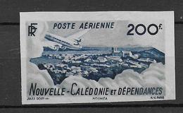 NELLE CALEDONIE - YVERT N° AERIEN 63 ESSAI De COULEUR NON DENTELE (*) SANS GOMME - - Imperforates, Proofs & Errors