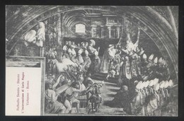 *Raffaello Sanzio - L'Incoronazione Di Carlo Magno* Roma, Vaticano. Nueva. - Pintura & Cuadros