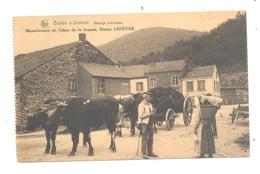 BONHAN Sur SEMOIS, Attelage De Boeufs - CP Publicitaire Manufacture De Tabac Nestor Lefèvre , Animation (334) B240 - Unclassified