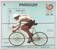 """Paraguay 1988 Summer Olympics,Seoul S/S """"A"""" - Paraguay"""