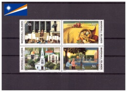 Îles Marshall 1991 - MNH** - Seconde Guerre Mondiale - Militaria - Roosevelt - Michel Nr. 338-341 Série Complète (mhl209 - Marshall