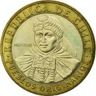 Monnaie, Chile, 100 Pesos, 2008, Santiago, TTB, Bi-Metallic, KM:236 - Chile
