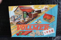 Catalogue En Néerlandais / Rivarossi - Catalogue  Revue  1958 En Néerlandais  / Catalogu De 27 De Pages, Forma 21x15 Cm - Livres Et Magazines